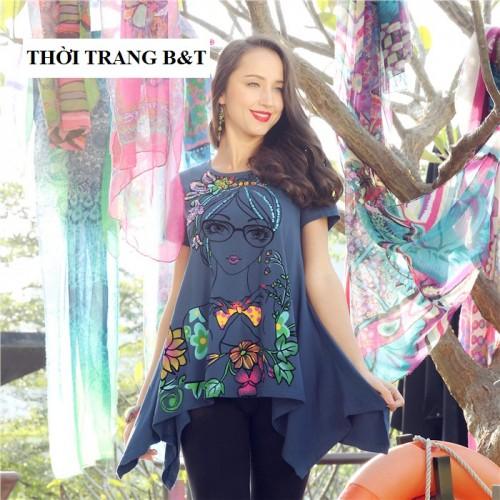 ÁO HÈ HỌA TIẾT TRẺ TRUNG RỰC RỠ_TB 242.0